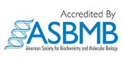 Accredited by ASBMB American Society for Biochemistry and Molecular Biology Icon