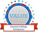Best Value School Coastal College Campus Logo