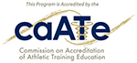 This program was accredited by CAATE Commission on Accreditation of Athletic Training Education Icon