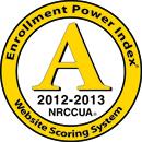 Enrollment Power Index A 2012-2013 Logo