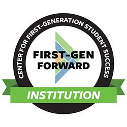 Center for First-Generation Student Success First-Gen Forward Institution Logo