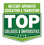Military Advanced Education & Transition Top Colleges & Universities 2018 Icon