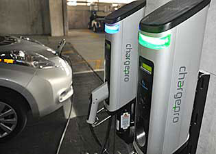Electric Vehicle Charging Stations >> The University Of Tampa Sustainability Electric Vehicle Charging
