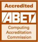 Accredited ABET Computing Accreditation Commission Icon