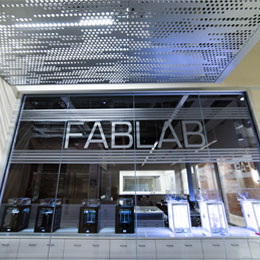 The Fab Lab fosters student creativity and innovation.
