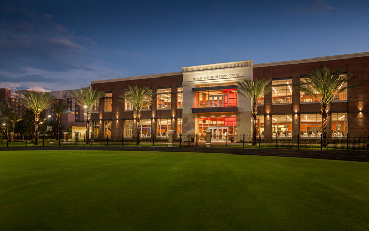 The university of tampa fitness and recreation center for Cost of building a gym