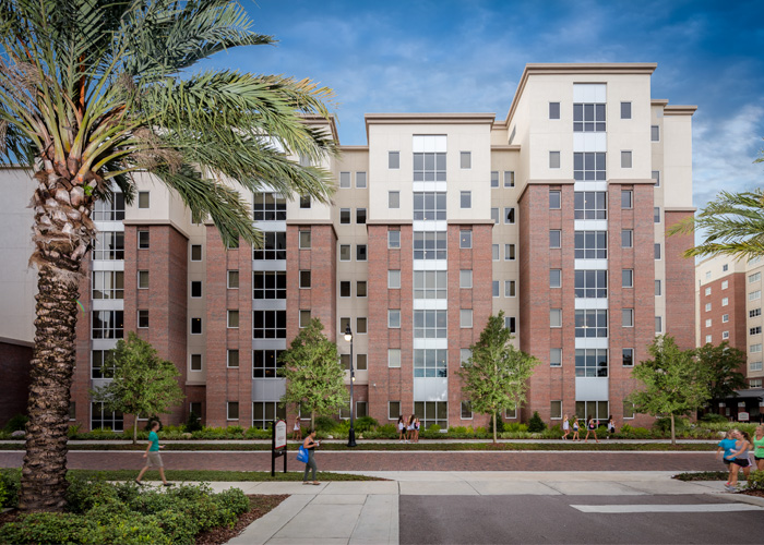 The University Of Tampa Residence Life Palm Apartments