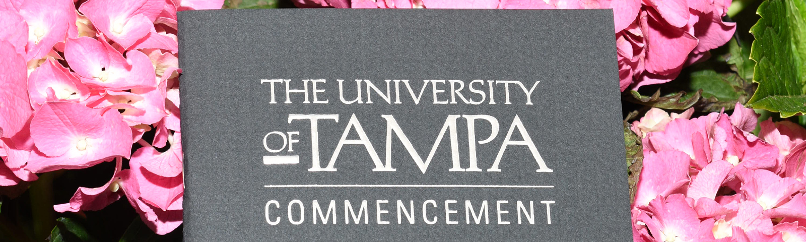 The University of Tampa Commencement Book