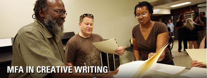 MFA Creative Writing | English | SIU