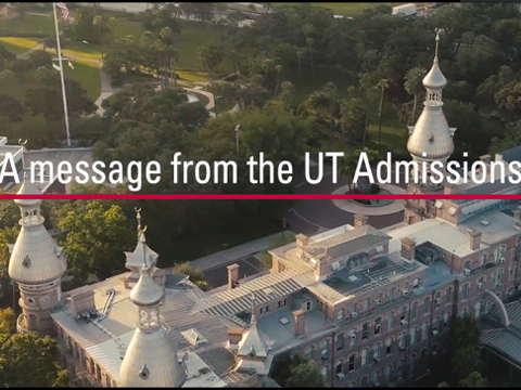 A message from the UT Admissions