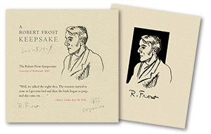 Robert Frost Keepsake