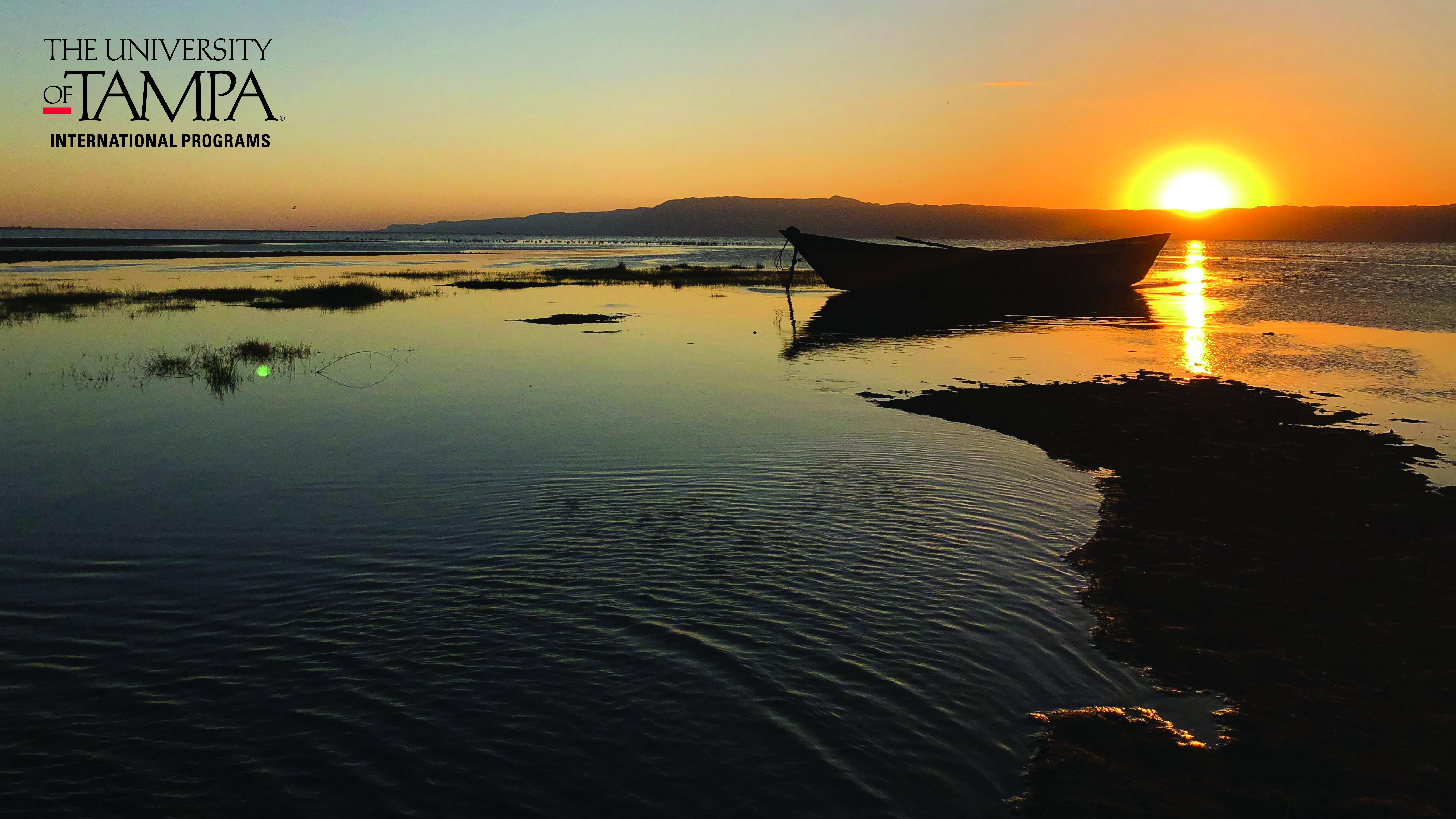 Sunset on Lake Eyasi in Tanzania (Photographer: Troy Cusson, Music Technology Coordinator)