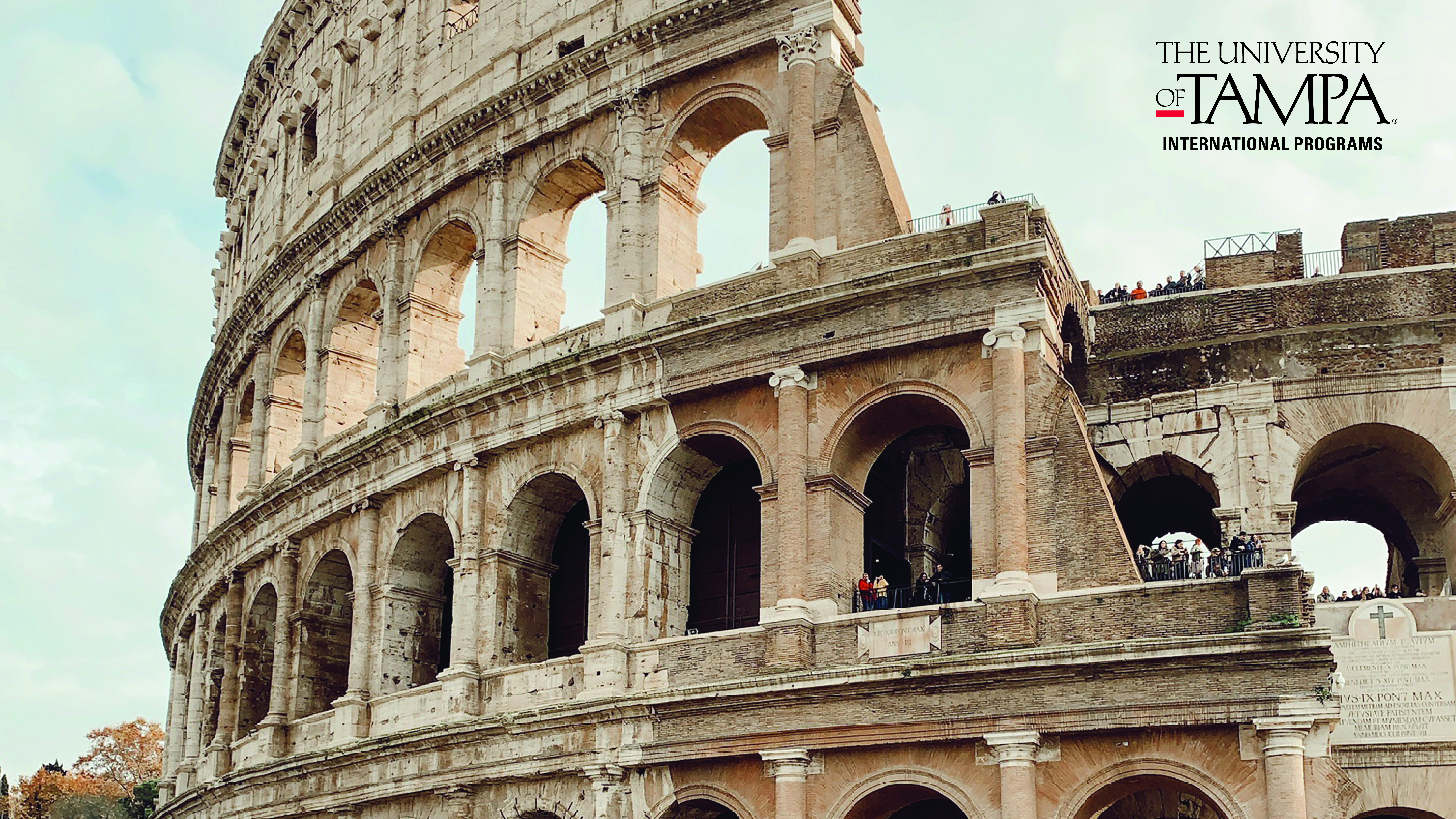 Outside the Roman Colosseum in Italy (Photographer: Natalie Jumaoas '21)