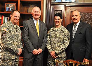 The university of tampa news top rotc senior named lt gen hal hal moore award 2013 thecheapjerseys Image collections