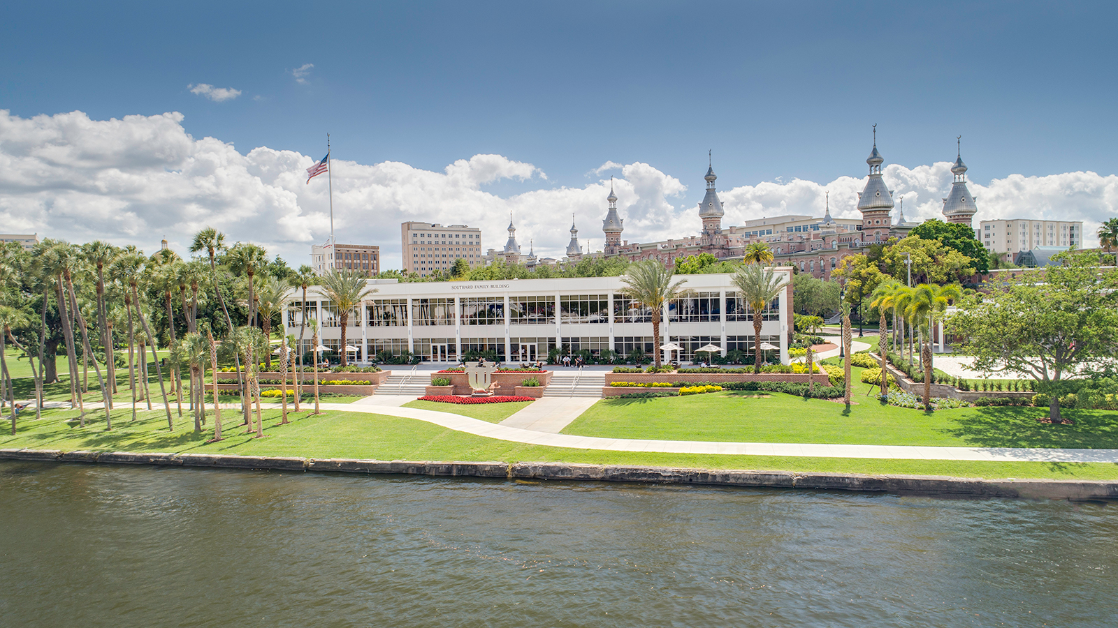 View of UT from the Hillsborough River