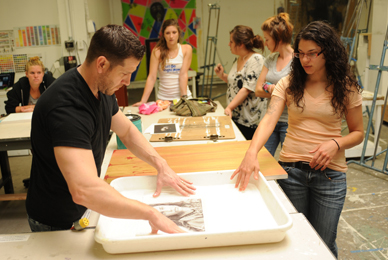 The Art Department curriculum prepares <br/>students for careers in the visual arts.<br/>