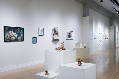 The Scarfone/Hartley Gallery features work by<br/> fine arts faculty, alumni and students.<br/>