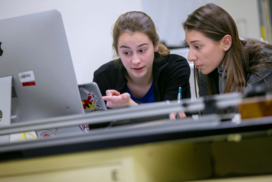 Students assist with ongoing faculty projects <br/>or pursue their own independent work. <br/>