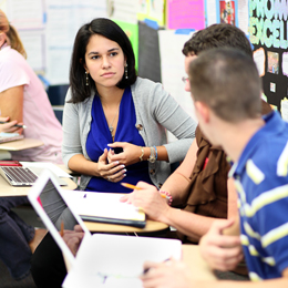UT's Department of Education prepares students<br/> to become certified teachers upon graduation.<br/>