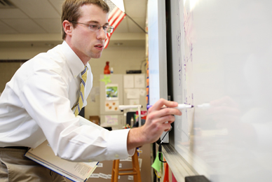 The department of education develops students<br/> into teachers.<br/>