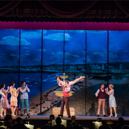 UT's production of the hit musical Nice Work <br/>If You Can Get It featured more than 30 student performers.