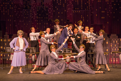UT presented Thoroughly Modern Millie, <br/>a laugh-filled journey back to the roaring '20s.