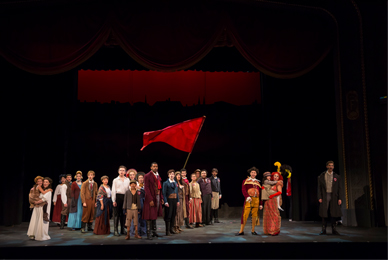 The University of Tampa presents the<br/> award-winning musical Les Misérables.