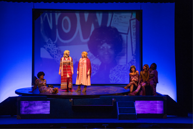 UT celebrated some of the most memorable <br/>songs of the 1960s at UT's production <br/>of Beehive: The 60's Musical.