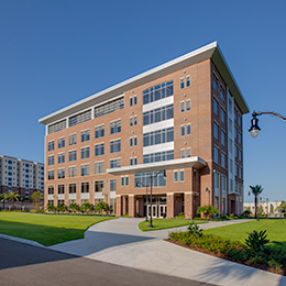 The PA program will be housed in the new, six-story <br/>academic building in the heart of campus.