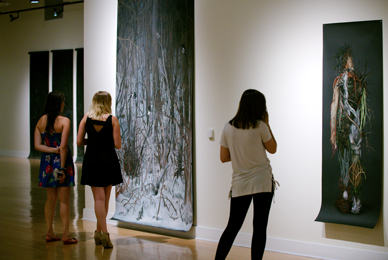 The Scarfone/Hartley Gallery exhibits artwork by<br/> contemporary national, international and regional artists.<br/>