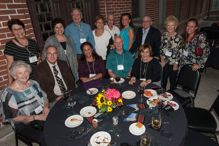Alumni attend A Night at the Rat during Homecoming weekend.