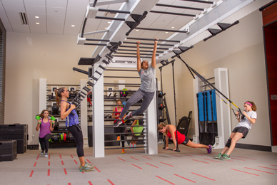 The fitness center offers one-on-one training<br/> sessions with nationally certified personal trainers.<br/>