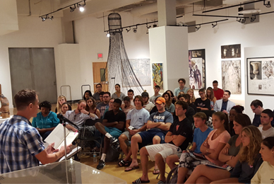 Students in CAL learn from experienced <br/>faculty mentors who are published authors,<br/> nationally recognized artists and performers,<br/> and thought leaders in their fields.
