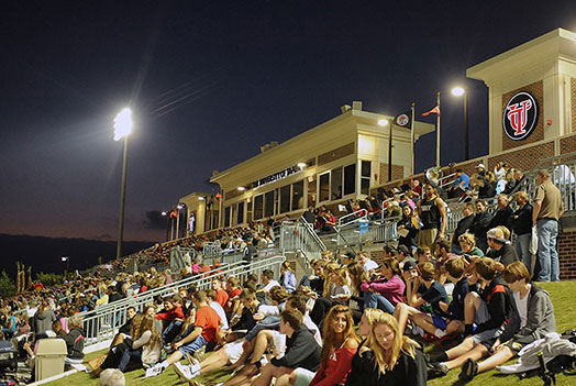UT fields 22 men's and women's varsity sports,<br />which compete at the NCAA Division II level.<br/>