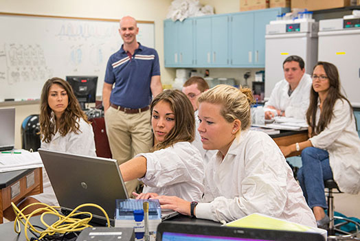 UT offers state-of-the-art classrooms and labs.<br/>