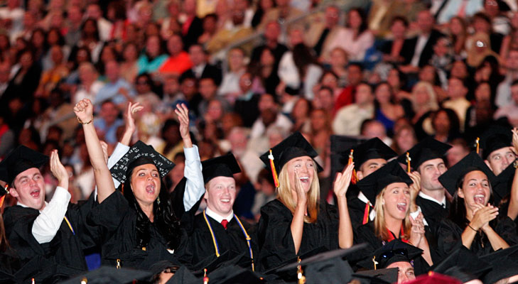 There were 1,226 degree candidates at UT's Spring 2011 Commencement.