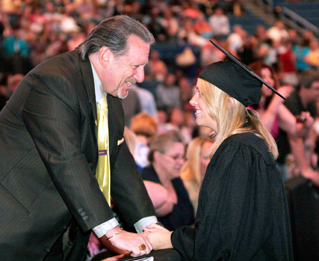 UT graduated more than 1,200 students at its 130th Commencement.