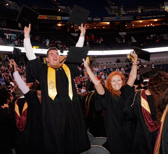 UT awarded 199 graduate degrees.
