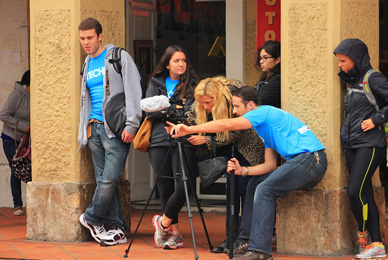 This UT travel course took students to <br/>South America to learn documentary filmmaking.<br/>