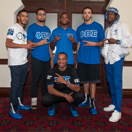 Phi Beta Sigma Fraternity, Inc. has a long rich <br/>history at The University of Tampa.