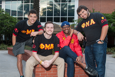 Phi Mu Alpha Sinfonia is part of the Campus <br/>Interfraternity Music council.