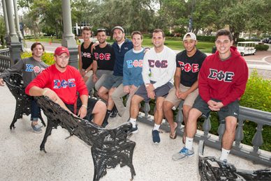 There are 15 recognized fraternities at The University of Tampa.