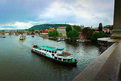 Sarah Kaplan '17 captured this view of Prague,<br/> Czech Republic, while on a faculty-led <br/> travel course.