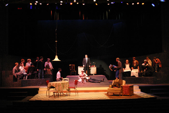 UT Theatre production of A View from the Bridge in 2003