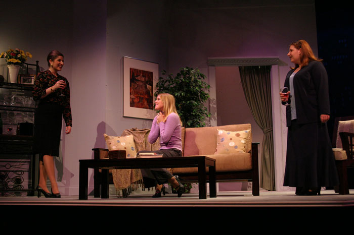 UT Theatre production of Isn't It Romantic in 2004