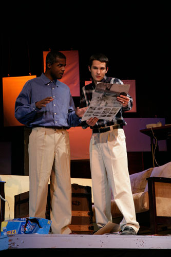 UT Theatre production of Boy Gets Girl in 2005