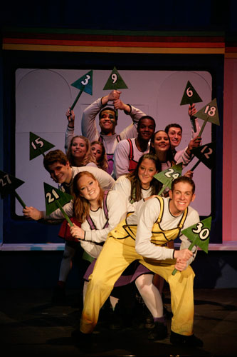 UT Theatre production of School House Rock in 2005