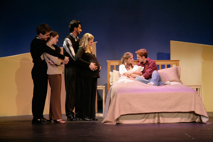 UT Theatre production of Baby in 2006