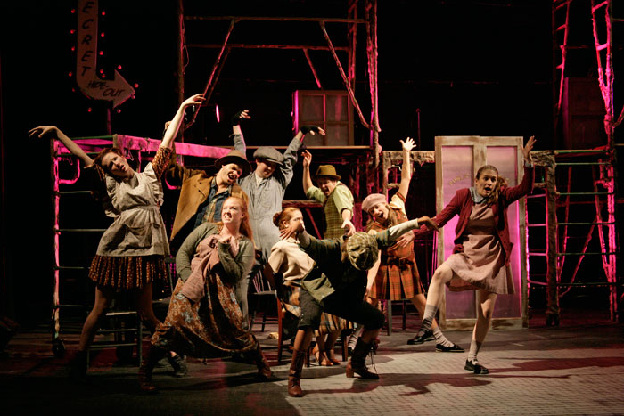 UT Theatre production of Urinetown in 2006
