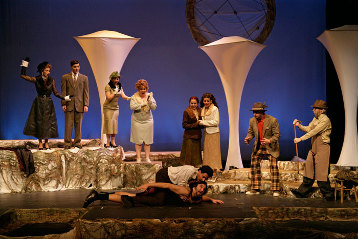 UT Theatre production of As You Like It in 2007